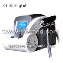Beliebtesten q geschaltete Epilation und Akne Laser Behandlungsmaschine