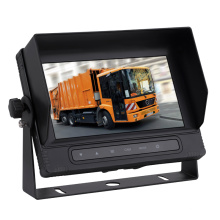 7 inch Waterproof Digital Car Quad Monitor with Auto Reverse Trigger