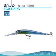 Angler Select Deep Diving Stick Bait Fishing Tackle Lure with Vmc Treble Hooks (SB0514)