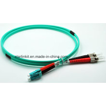 LC to FC Om3 Multimode Mode Fiber Optic Patch Cord