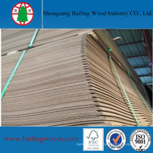 Waterproof Raw Dark Brown Hardboard for Decoration