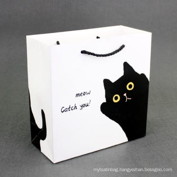 Hot customized foldable embossing gift tote paper bag