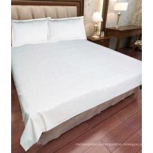 высокое качество листа гостиницы перкали хлопка кровать
