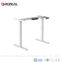 Electric height adjustable sit standing computer lifting office desk First time offered