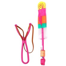 Plastic led arrow helicopter fly toy