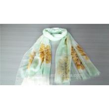 Bufanda 100% de moda de la pintura de la mano del cachemira