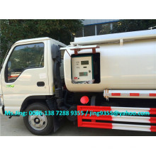5000L JAC mini refuel truck,mobile refueling truck,fuel dispensing truck for sale