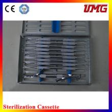 C10s Dental Isntrument Box Edelstahl Dental Sterilisator Kassette
