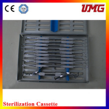 C10s Dental Isntrument Box Stainless Dental Sterilizer Cassette