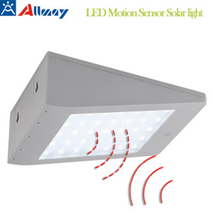 3.5W Solar Sensor de Movimento Wall Light Garden Lamp