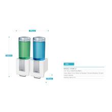 Dispensador manual de jabón líquido cromado cepillado