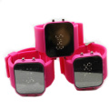 unisex odm silicone band jelly digital  waterproof watch