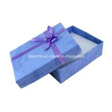 Caixa de presente de luxo artesanal de papel artesanal