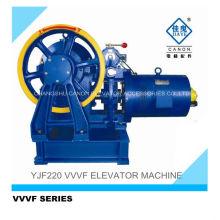 YJF220-VVVF Geared Passenger Elevator Machine
