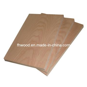 Chino madera contrachapada chapeada para muebles