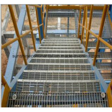 Galvanized Platform Steel Grating Stair Tread
