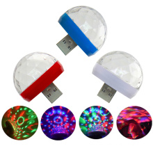 6 Colors Rotating Disco Ball Party Lights Led Remote Control Magic Crystal light Ball For Home Xmas Wedding Show