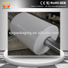 UV coating opaque white PET film 250u