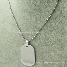 Custom Cheap Silver Metal Personalized Necklace
