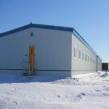 Пакгауз стальной структуры для промышленного применения