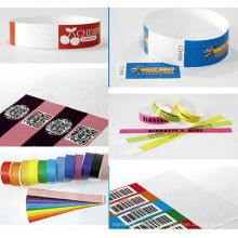 tyvek one-off paper wristband