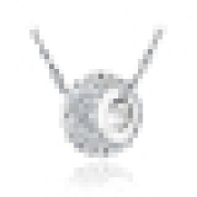 """925 Silve Pendant with 16"""" Water Wave Chain"""