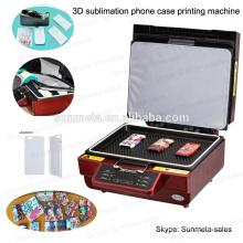 Sublimación de la caja del teléfono celular / máquina de impresión de la cubierta