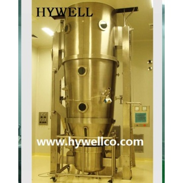 Excellent quality for for Granulating Coater Machine Hywell Supply Fluid Bed Granulator Coater Machine export to Ukraine Importers