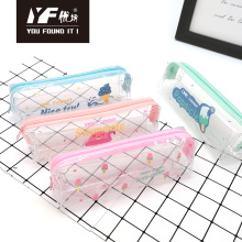 Custom cute style PVC pencil case