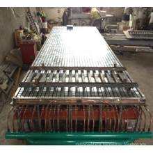FRP fiberglass moulding mesh grating panel equipment production line