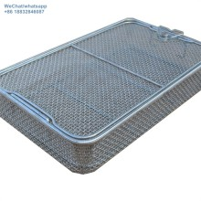 Stainless steel mesh sterilizing disinfect  basket
