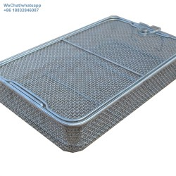 Stainless steel mesh sterilizing disinfect  basket