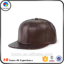 leather brim design your own leather snapback caps