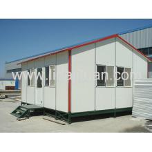 Casa de panel de pared de acero de bajo costo