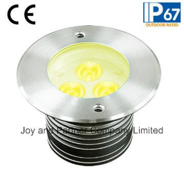 9W recesso luz subterrânea LED de aço inoxidável (JP82532)