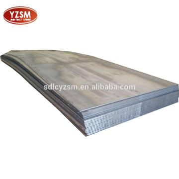 plaque en acier au carbone c45