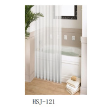 Vinil, cortina de chuveiro do PVC, cortina de chuveiro plástica