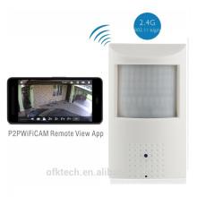 Design integrado 48 pcs LEDs 720 p visão noturna longa pequena câmera sem fio WIFI