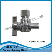 Mini Angle Ball Valve (PEX*OD Comp.)