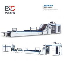 Automatic higher speed flute laminate machine
