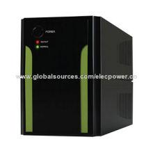 650VA offline uninterruptible power supplies, LED display, PWM output, silent setup