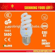 ¡CALIENTE! T3 11W espiral completo Mini energía ahorro lámpara 10000H CE calidad
