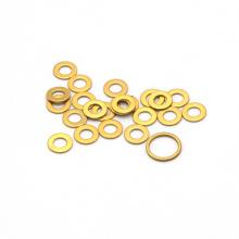 Din standard hardware fasteners cnc spacer brass shim washers