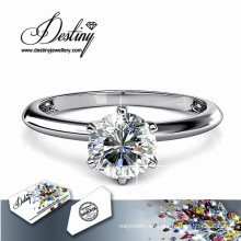 Destino joyería cristal de Swarovski que del anillo