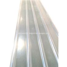 Anti-UV Transparent Fiberglass Corrugated FRP sheets