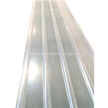 UV-transparente Fiberglas-Wellplatten aus GFK