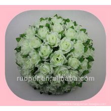 wedding ball / cheap artificial rose handing flower ball