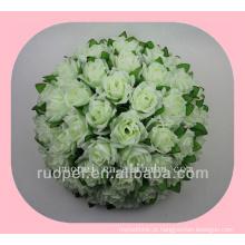 bola de casamento / barato artificial rosa entregando flor bola