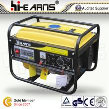 Generador portable de la gasolina 2kw con el color amarillo (GG2500)