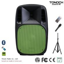 Venda quente 15 polegadas PA plástico Stage Speaker para o modelo Em15ub